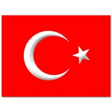 FL-049 Flag Turkey 1.5x0.9m