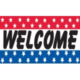 FL-052 Flag Welcome Knitted 1.5x0.9m