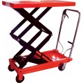 Hydraulic Double Scissor Table Truck - NIULI Brand -  350kg 1.5m Lift
