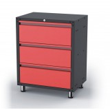 NDS   3-Drawer Floor Standing Cabinet with double bearing sliders